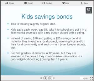 kid savings bond